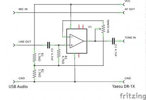 Yaesu audio interface_schem